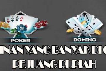 Permainan Judi dengan Tema Domino di Situs Rajapoker Idn