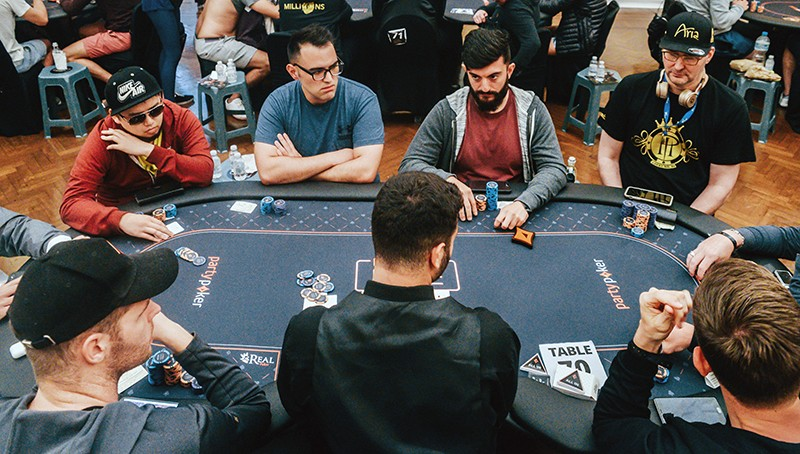 Playing Poker in the Real World